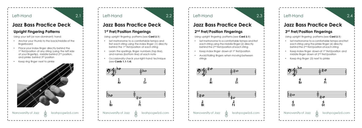Jazz Bass Practice Deck2