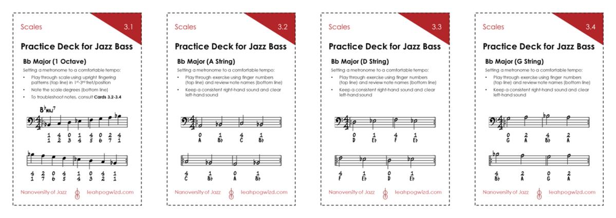 Jazz Bass Practice Deck3