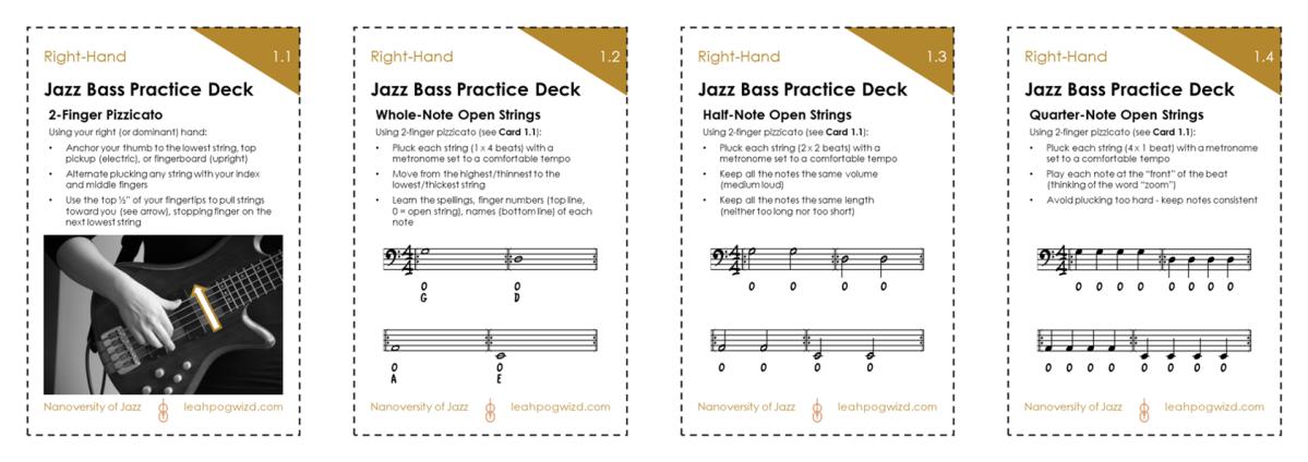 Jazz Bass Practice Deck1