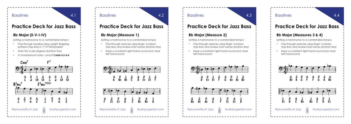 Jazz Bass Practice Deck4